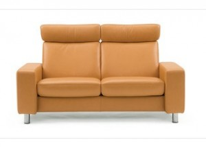 Stressless Pause High Back Loveseat