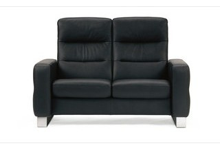Stressless Wave High Back Loveseat