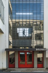 DESSAU GERMANY. Bauhaus - iconical masterpiece of modern architecture designed in 1925 by Walter Gropius.